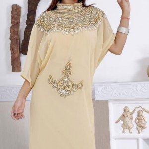 abaya-dubai-beige-or