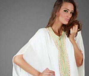 abaya pas cher blanche