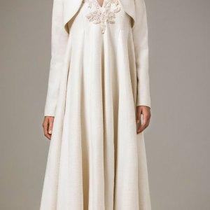2016 Designer Satin Maxi Dubai Kaftan Dress Modern Arabic Abaya Long Evening Dresses With Jacket