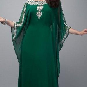 abaya-moderne-verte