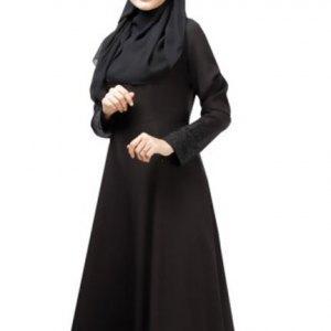abaya-simple-noir