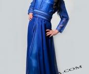 takchita-bleu-ornee