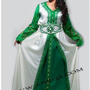 takchita-marocain-vert-blanc