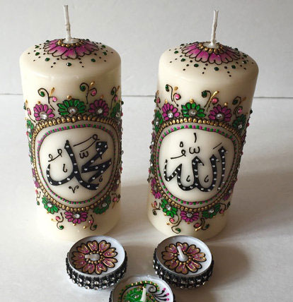 assortiment de bougie henn - Bougie Henn Mariage