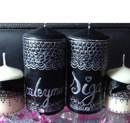 Personnalisez votre bougie orientale avec pr nom ornement - Bougie decorative pas cher ...