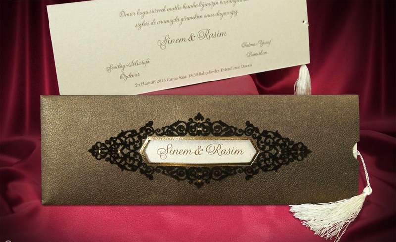 la collection de cartes par faire part oriental - Carte D Invitation Mariage Orientale Pas Cher