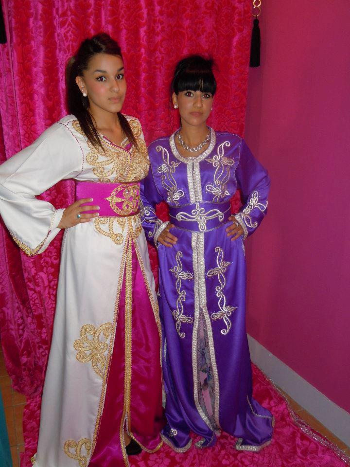Les différentes robes orientales de la Fée du Caftan