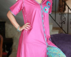 gandoura-femme-marocaine