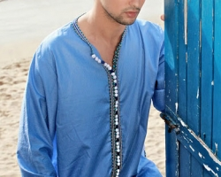 gandoura-homme-marocain