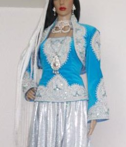 karakou-bleu-argent-pas-cher