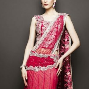 lehenga-choli-rouge-bordeau