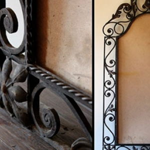 miroir-oriental-fer-forge