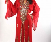 robe-orientale-dubai-rouge-drome