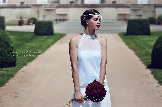 Robe orientale Lyon Nawel Mania Couture robe de mariée orientale à ...