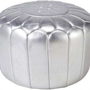 pouf-oriental-argent
