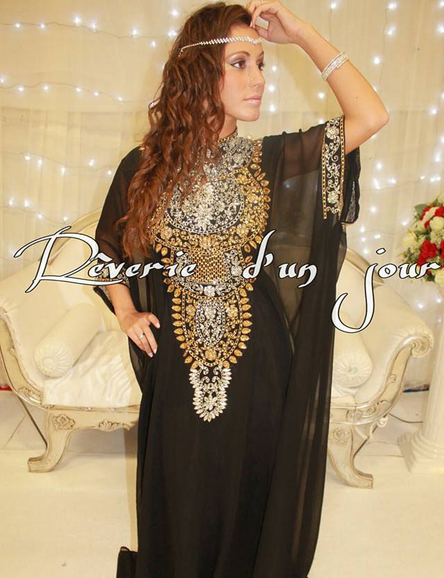Robe de soiree orientale saint denis