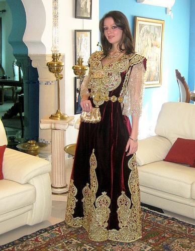 Robe Algerienne Tenues Robes De Mariee D Algerie Pas Cher