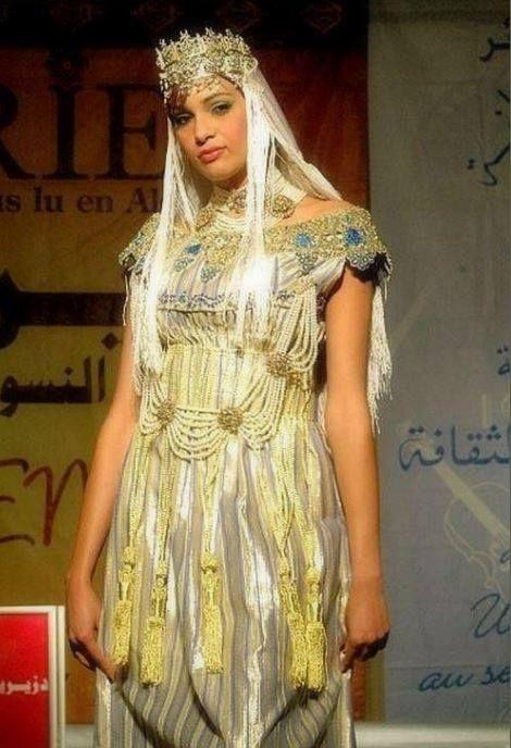 La robe algérienne, entre modernité et traditions