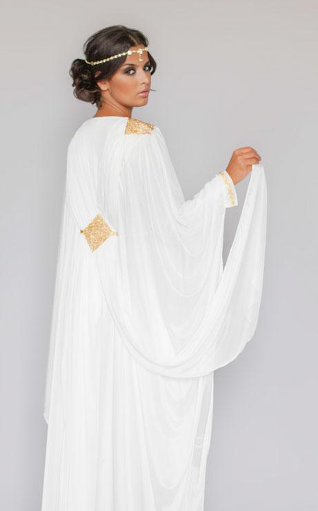 Robe Dubai Blanche En Tulle Pas Cher