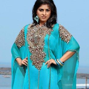 robe-duabi-bleu-turquoise