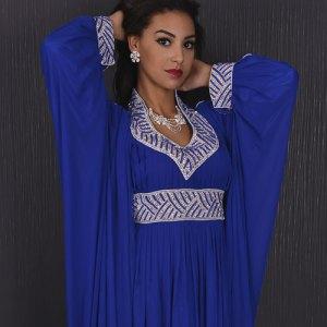 robe-dubai-bleu-marine-mousseline