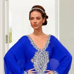 robe-dubai-bleu-roi-nuit