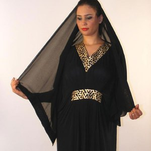 abaya-dubai-noir-or
