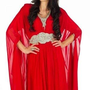 robe-dubai-rouge-mousseline-de-soie