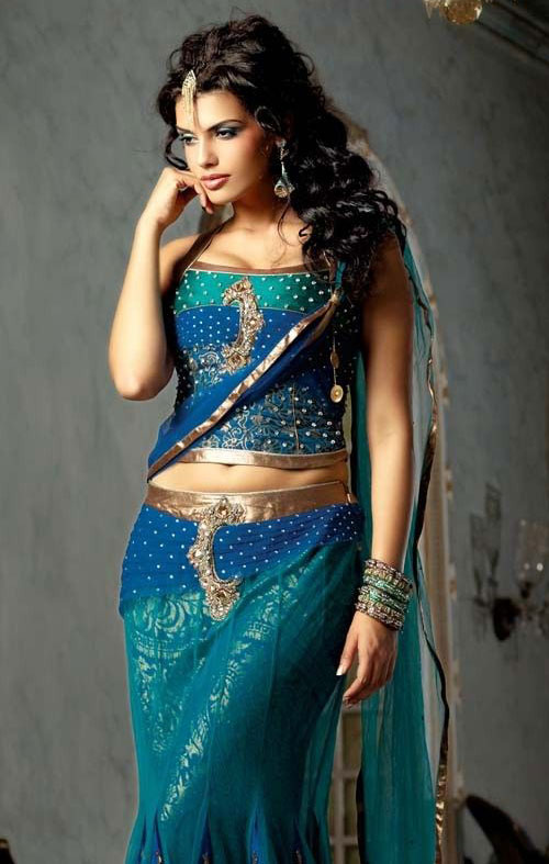 Robe Indienne Tenues Robes De Mariee Bollywood Pas Cher