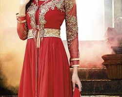 robe indienne tenues robes de mari e bollywood 2017 pas cher. Black Bedroom Furniture Sets. Home Design Ideas
