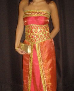 robe-kabyle-rouge-sans-manche-2016