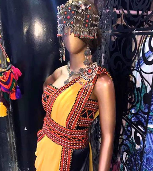 Robe kabyle: une tenue kabyle moderne et chic pas cher