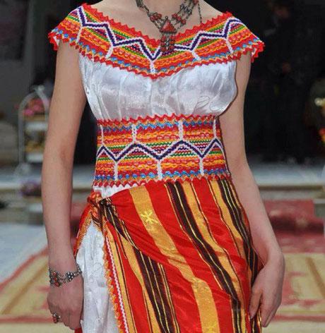 Les robes kabyles, un vêtement chic, moderne et traditionnel
