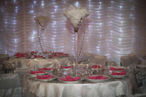 la rose dorient dcoration pour mariage - Prix Traiteur Oriental Mariage
