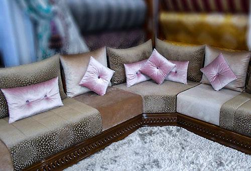 Salon marocain: vente salon oriental sur mesure pas cher