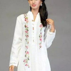 salwar-kameez-blanc-simple