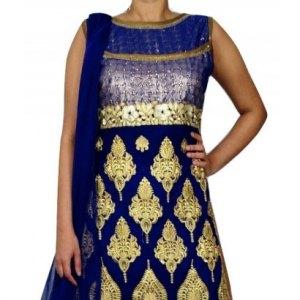 salwar-kameez-bleu-dore