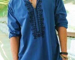 salwar-kameez-homme-bleu