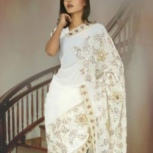 sari-indien-blanc-mariage-pas-cher
