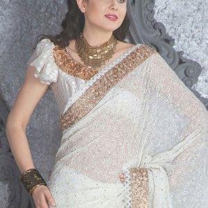 sari-indien-blanc-mousseline-de-soie