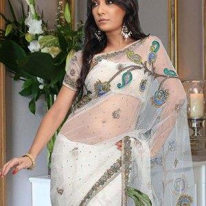 sari-indien-blanc-tulle
