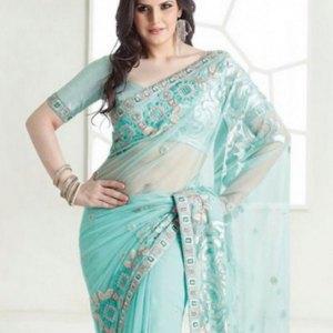 sari-indien-bleu-ciel