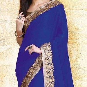 sari-indien-bleu-coton