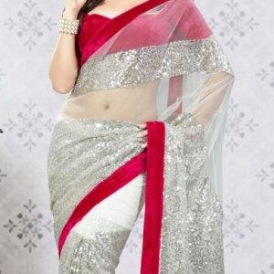 sari-femme-blanc