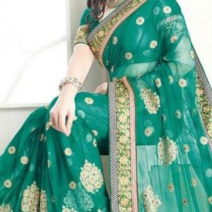 sari-femme-vert