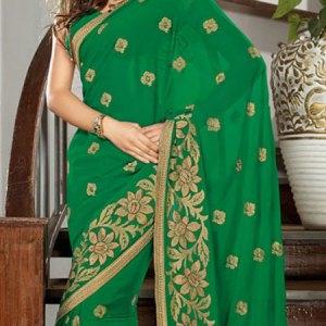 sari-indien-vert