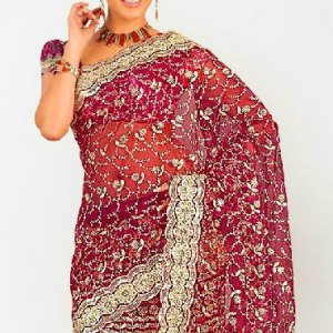 sari indien moderne