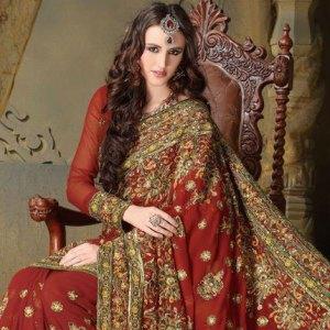 sari-indien-roge-haute-couture