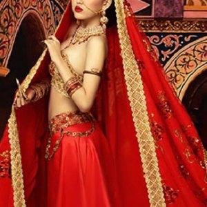 sari-indien-rouge-mariage
