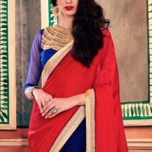 sari-indien-rouge-pas-cher